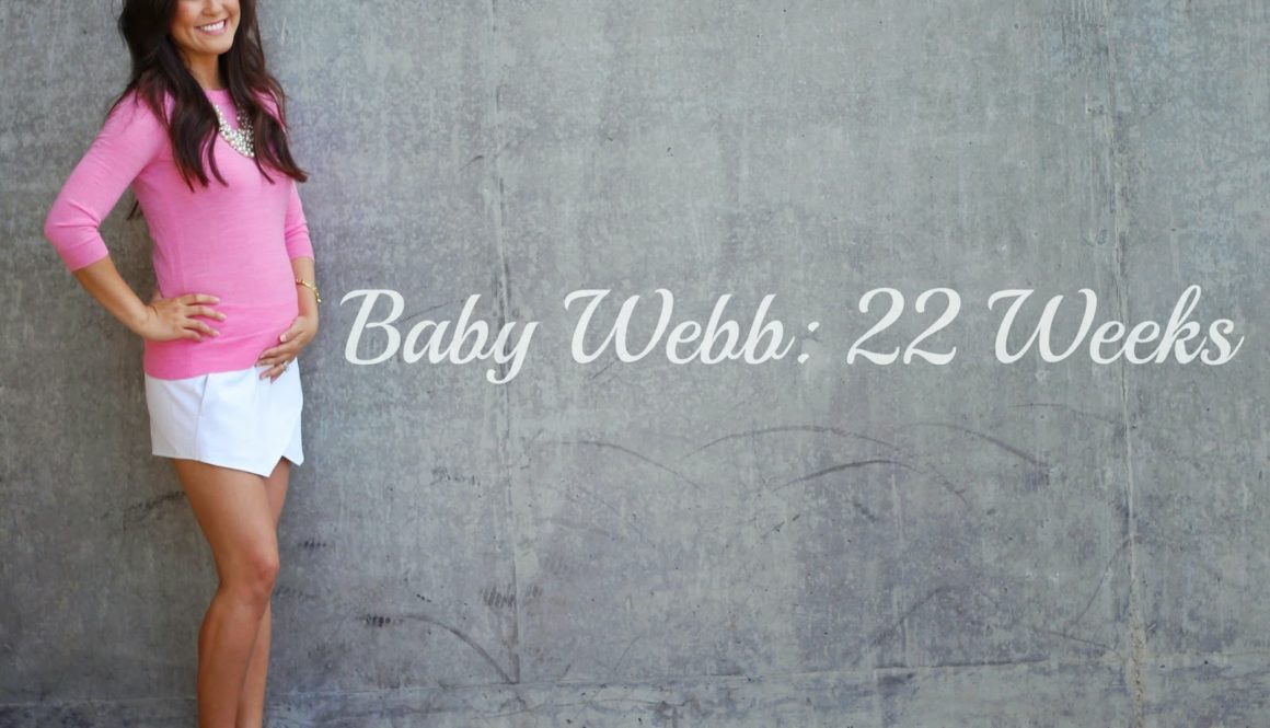 Baby Bump Update: 22 Weeks