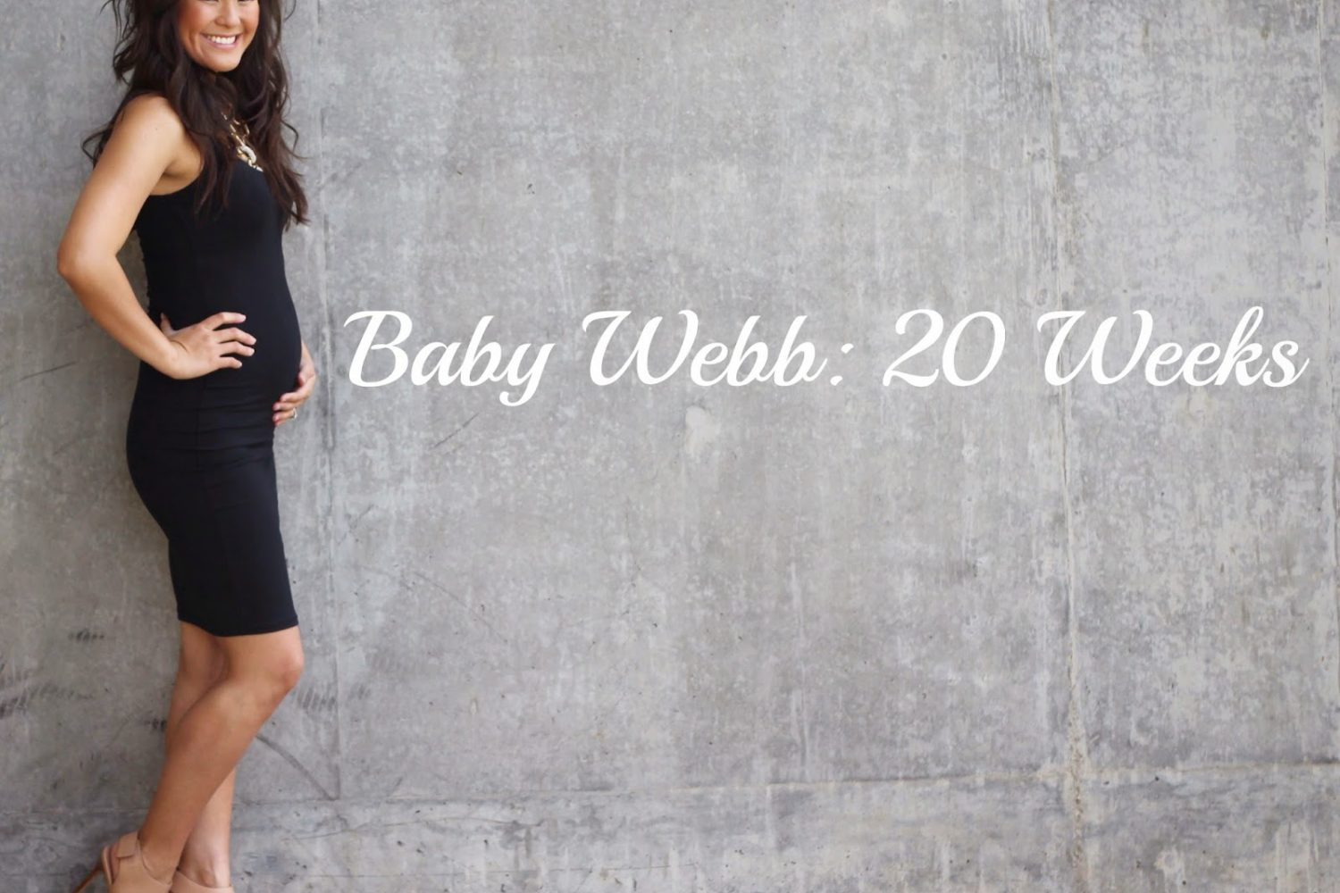 Baby Bump Update: 20 Weeks {Half Way Mark!}