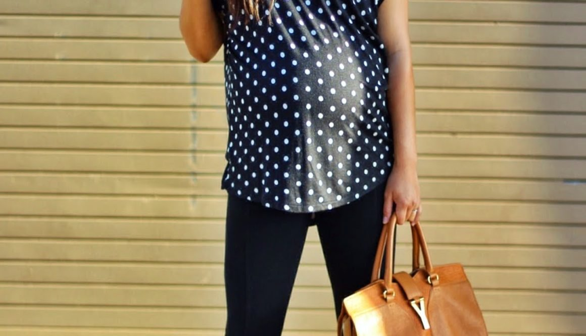 Black on Black {Polka Dots}