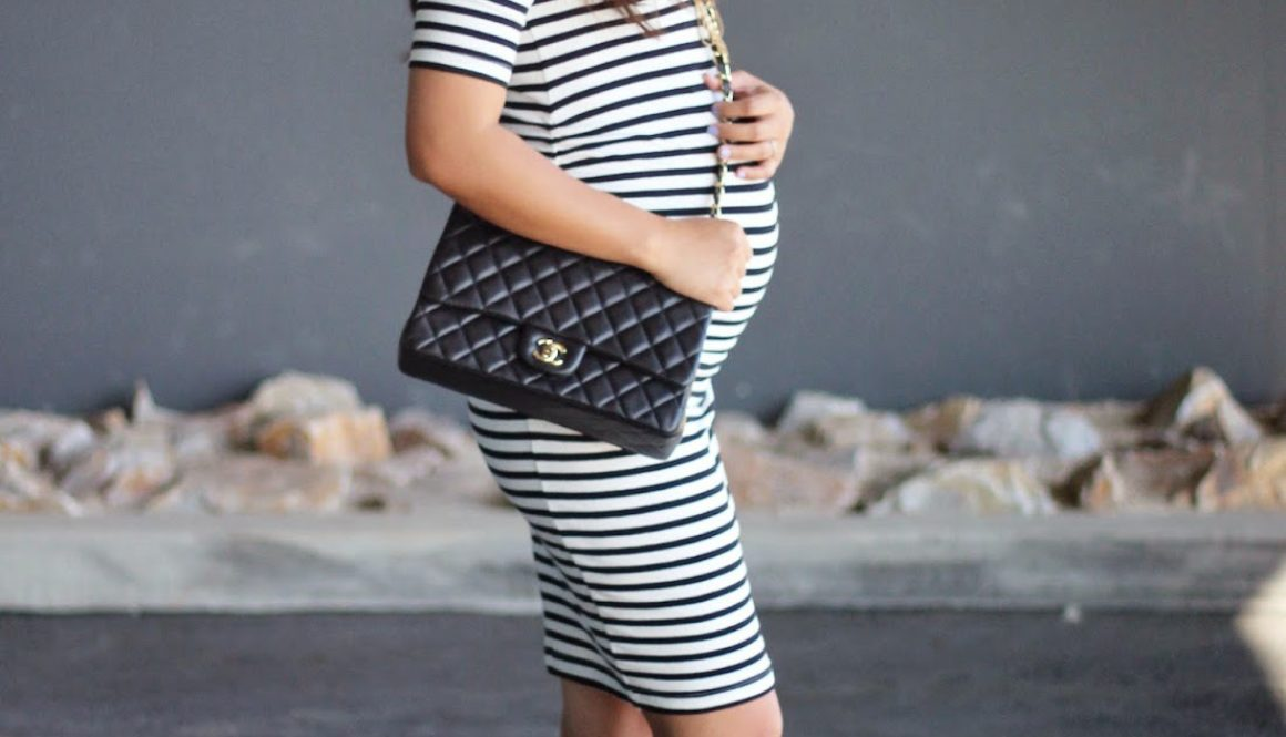 Maternity Stripes & 32 Weeks Babybump Update