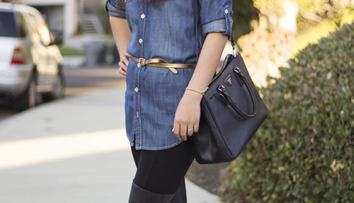 Casual Friday {Chambray + OTK}