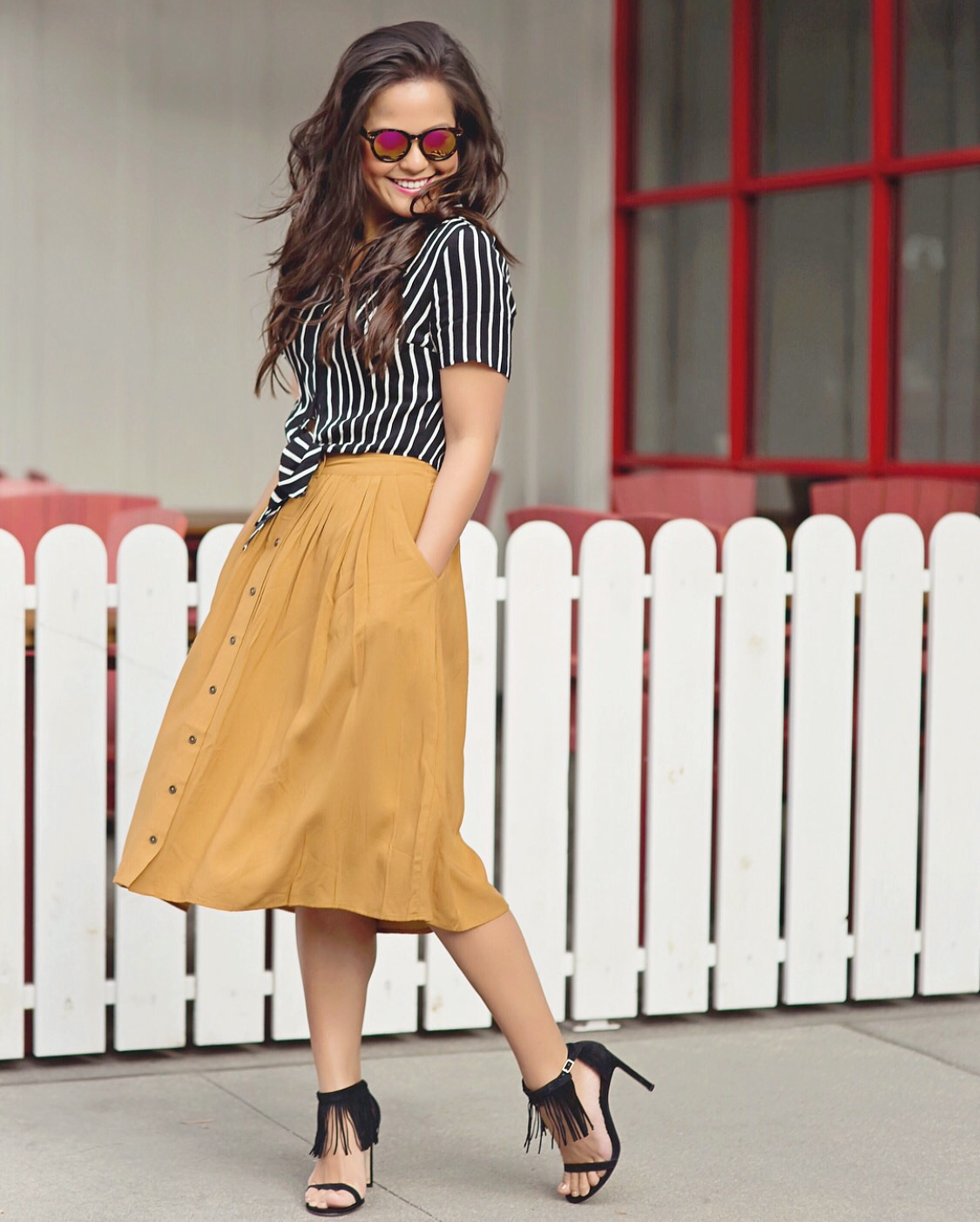 Stripes & Skirts