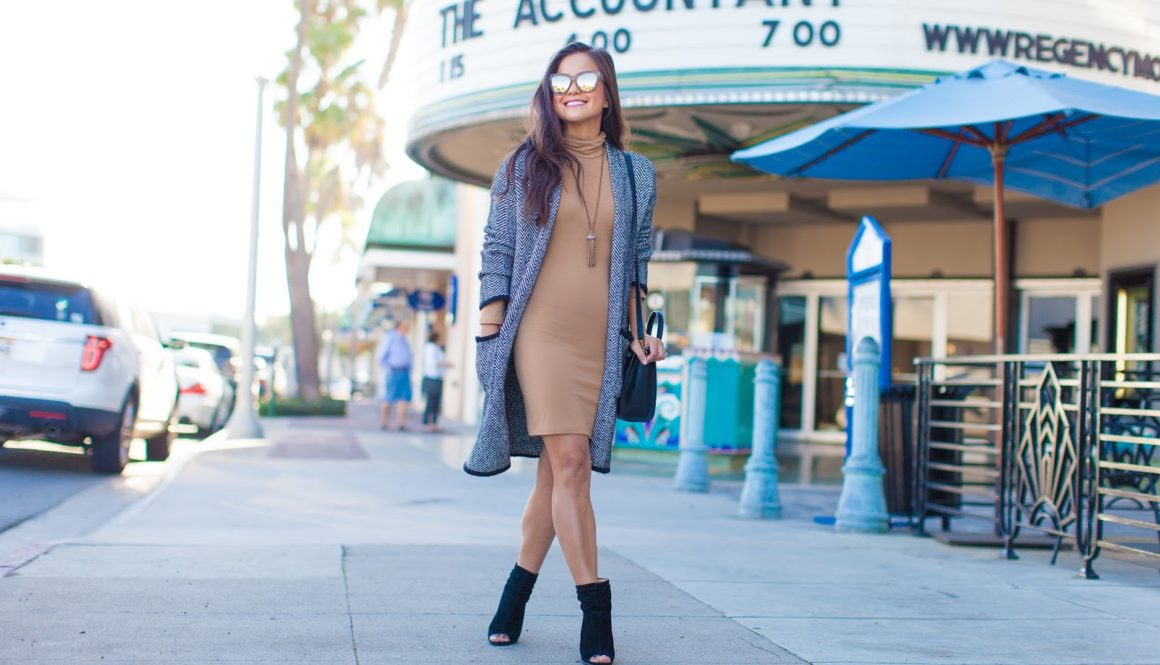 Style Steal: F21 Turtleneck Dress