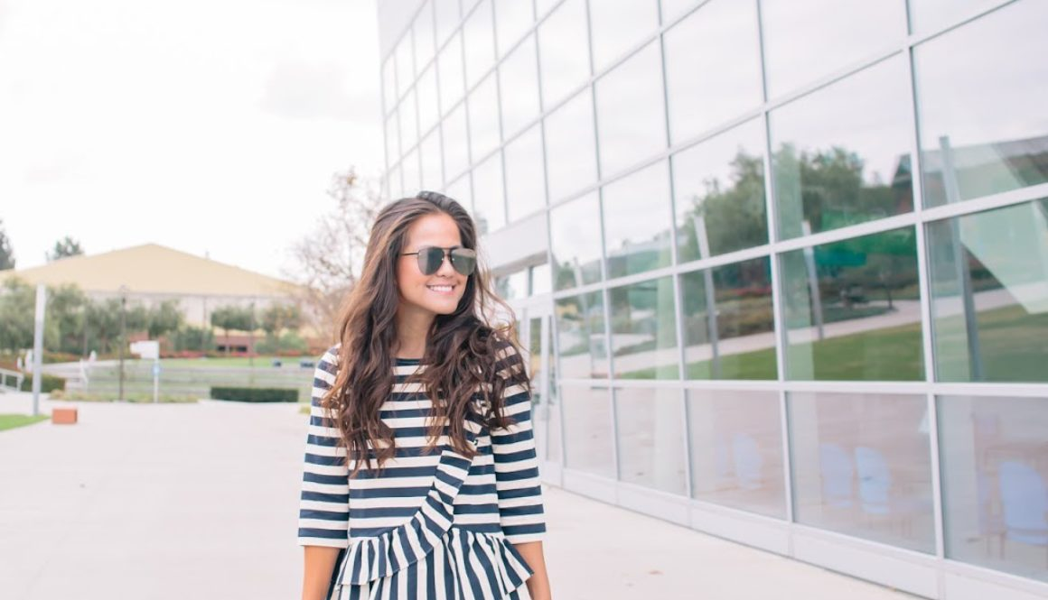 Showing My Stripes…{and Sequins}