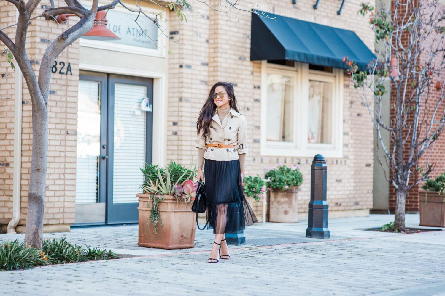 Trench & Tulle Combo