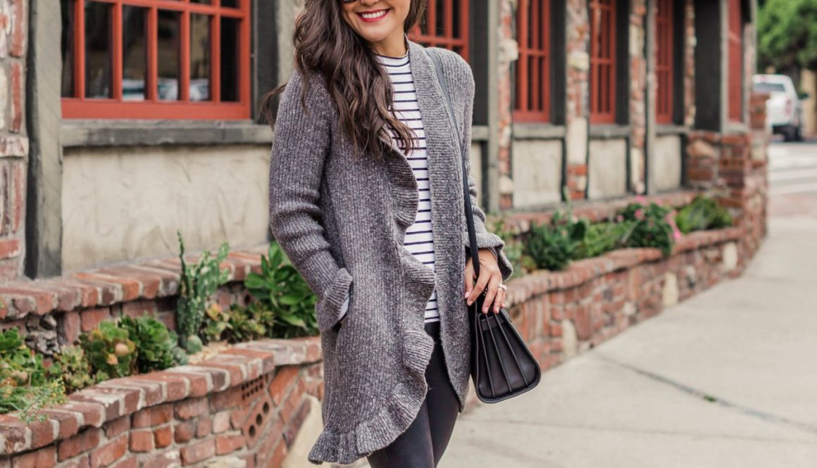 Ruffled Sweater Weather - Jetting Jewels Blog