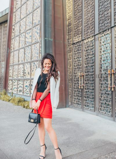 2 Ways to Wear Red for Valentine's Day + Express Promo code